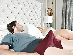Natasha Starr is a bizarre perv. She sees in secret while her sonny licks his Bailey Brookes cooter and can tell she is completely not into it. Natasha lets him know that she can be the light to guide him to cooter slurping prowess. She gets jealous, so t